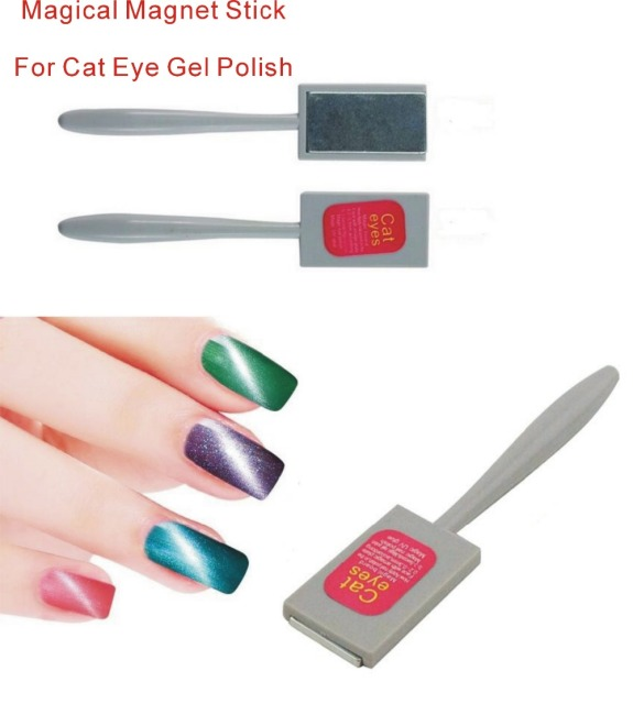 3D Magnet Plate For Cat Eyes Gel Polish Magical Magic Board Stick Rods DIY Nail Art
