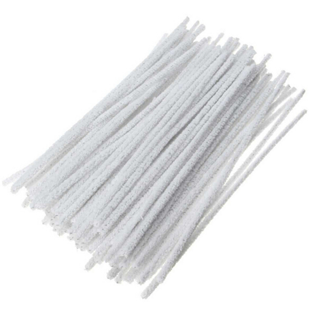 100PCS Cotton Tobacco Smoking Pipe Cleaning Tool Smoke Pipe Cleaner For Cleaning In Tight Space Craft Art Chenile Stick slip-on shoe