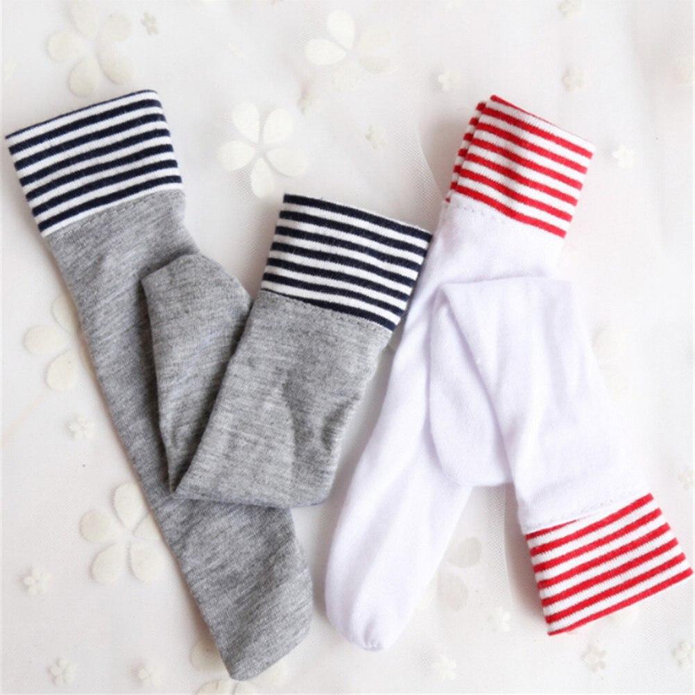 """1 Paar Wit/grijs Kousen Sokken Voor Blythe Poppen Kleding Accessoires Voor 18"""" Bekwame Vervaardiging"""