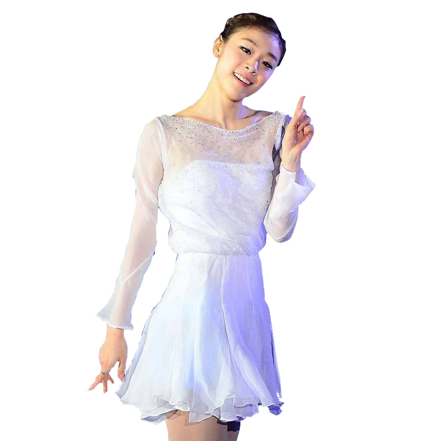 Aliexpress.com : Buy Customized Costume Ice Figure Skating Dress ...