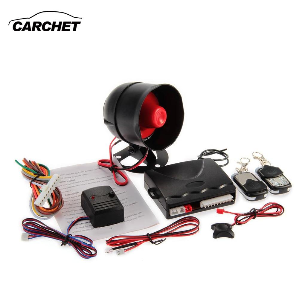CARCHET Central Locking Remote Car Central Locking System DC12V Car Alarm Auto Remote Control Locking System