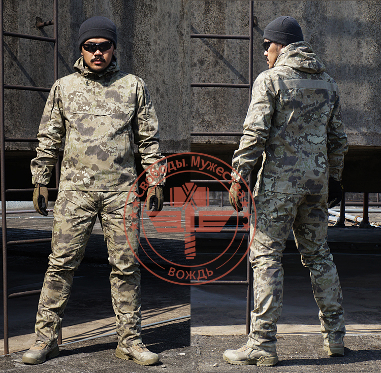 Outdoor Chase Hunting Exercise Camouflage Sets Tactical Army Military Suits camouflage Camping Hiking Trainning Cotton Clothing double fleece camo suits fabric jungle camouflage hunting clothing sets for hunter clothes