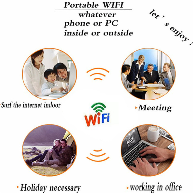 4G Lte Pocket routeur Wifi Voiture Mobile Wifi Hotspot Sans Fil À Large Bande Mifi Déverrouillé Modem répéteur d'extension Avec Sim emplacement pour cartes - 3