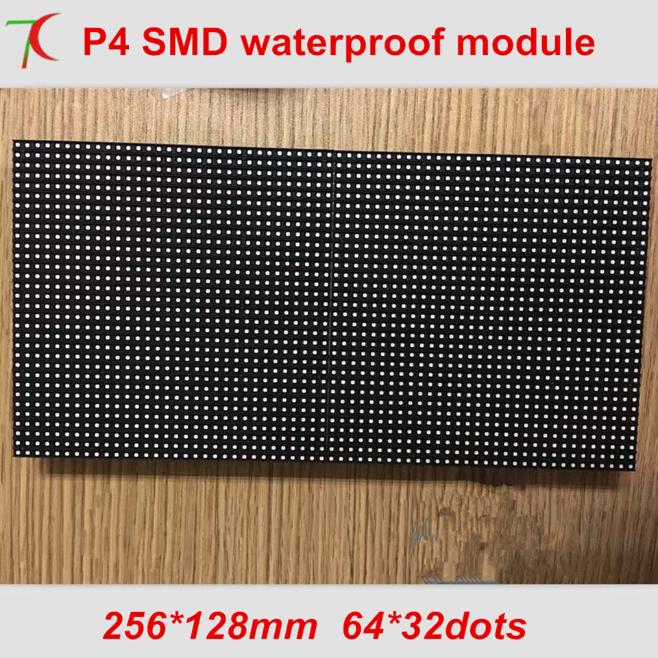The Highest Resolutions P4 Outdoor Smd  Full Color Led Module Use For Fix Installation Video Wall ,256*128mm,5500cd