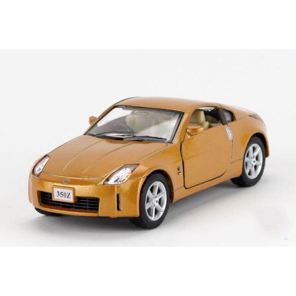 Children Kids Kinsmart Nissan 350Z Model Car 1:36 KT5061 5inch Diecast Metal Alloy Cars Toy Pull Back Gift