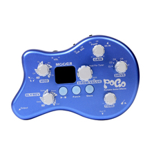Mooer 5 Effect Modules & 15 Effect Types 40 Drum Rhythms POGO Portable Effect Pedal Tuning Function