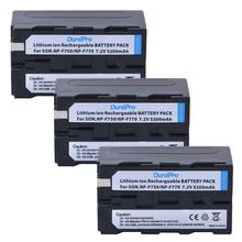 3 шт. 7,2 В 5200 мАч NP-F750 NP-F770 NP F750 NP F770 литий-ионный Батарея для sony ccd-tr917 ccd-tr940 ccd-trv101 ccd-trv215 ccd-trv25
