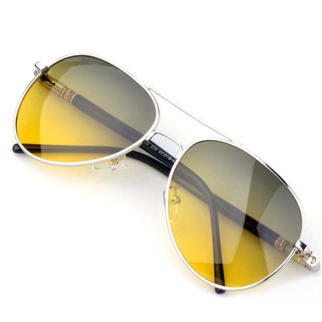 Metal Anti-glare Glasses Polarized Night Vision Driver Glasses Automobile Night Vision Goggles Sunglasses Man Famous Brand