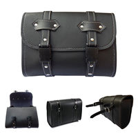 New Motorcycle Bar Saddle Side Box Tool Storage Synthetic Leather Bag