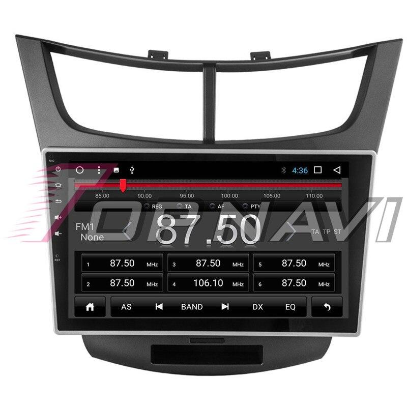 Автомобиля 10,1 ''Нет dvd плеер Android 8,1 для Chevrolet Парус 3 2015 Topnavi автомобильной MP3 MP4 gps навигации Bluetooth телефон - 6
