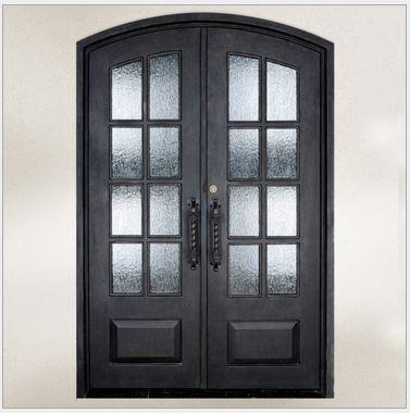 Custom design forged wrought Iron front doors iron doors iron entry doors  h wid8Online Get Cheap Iron Front Door Designs  Aliexpress com   Alibaba  . Front Doors Cheap. Home Design Ideas