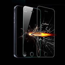9H Hardness Anti scratch Fingerprint resistant 0 3mm Ultra thin Tempered Glass Screen Protector for iPhone