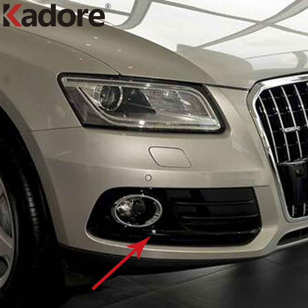 For Audi Q5 2013 2016 ABS Front Lower Bumper Racing Grill