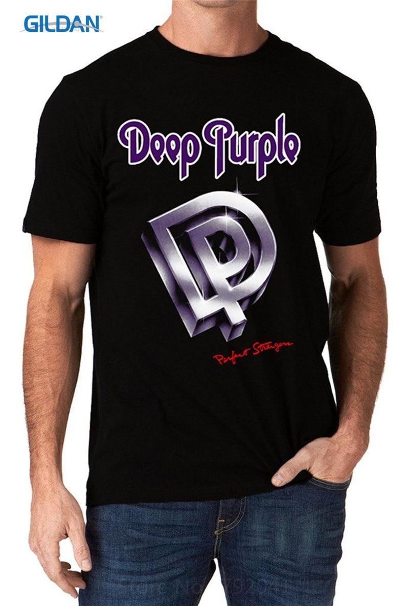 T Shirt 2017 New Create Your Own Shirt Design Crew Neck Deep Purple