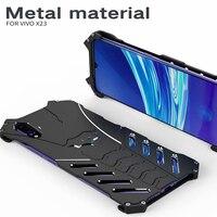R JUST aluminum metal case for vivo x23 shockproof drop protection case hard case for vivox23