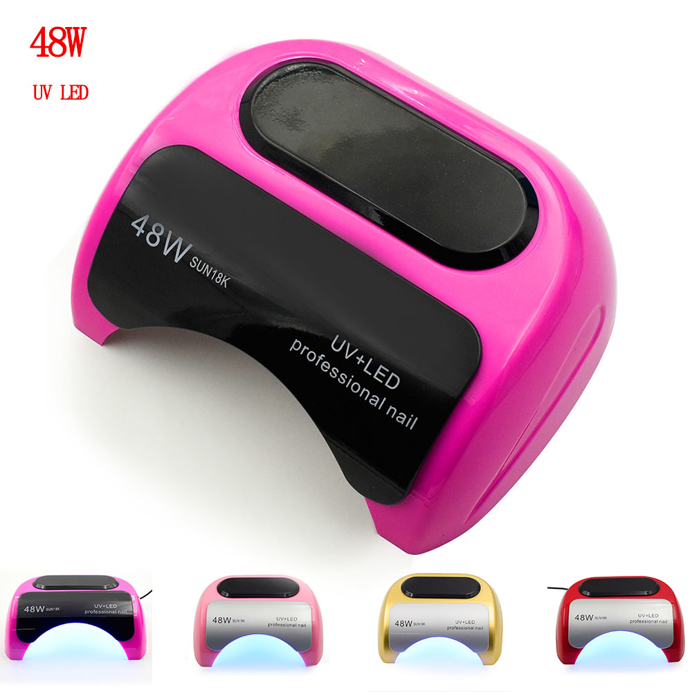 48W UV Lamp LED Nail Lamp Nail Dryer For Gel Polish Curing Manicure Nail Art Automatic Hand Sensor Manicure Nail Art Tools все цены