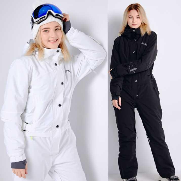 青魔法新しい冬スノーボード kombez スキージャケットとパンツスキースーツ女性ジャンプスーツ女性スノーボード防水全体ロシア