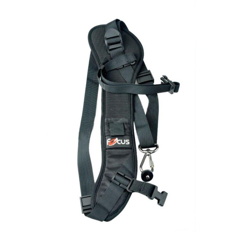 Foucs F1 Quick Rapid Camera Single Shoulder Sling Black Strap For DSLR Camera 7D 5D Mark II D800 A77 60D