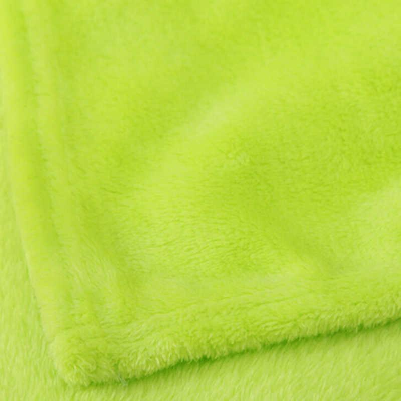 Детская фланелевая флисовая накидка для новорожденных, 1 шт., 50*70 см
