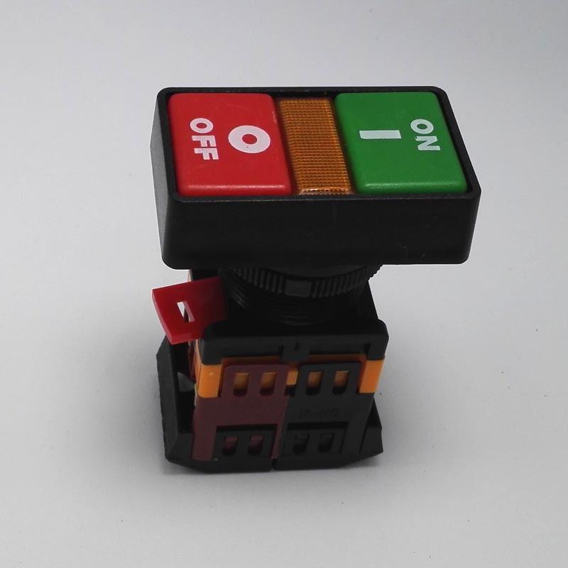 2 selectors momentary rectangle push button switch on and off switch ...