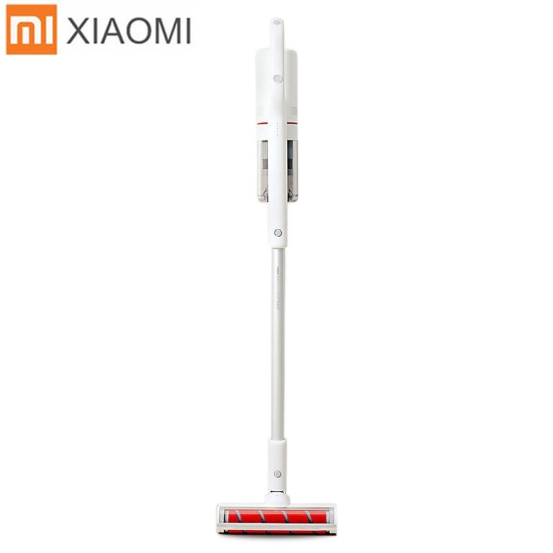Original Xiaomi ROIDMI XCQ03RM Portable Handheld Vacuum Cleaner Strong Suction 18500pa APP Remote Control EU Plug Car Home Use xiaomi roidmi xcq01rm portable handheld strong suction vacuum cleaner z25