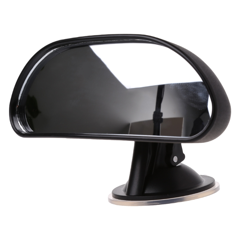 QILEJVS 360 Degree Car Auto Adjustable Baby Child Back Seat Rear View Safety Mirror WithSuction Cup