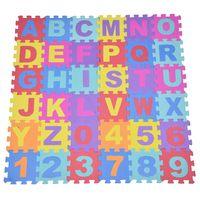 Praktyczne 36 sztuk miękka pianka EVA dziecko dzieci dzieci mata do zabawy alfabet numer układanka domu przedszkole maty do ćwiczeń w Mata od Dom i ogród na