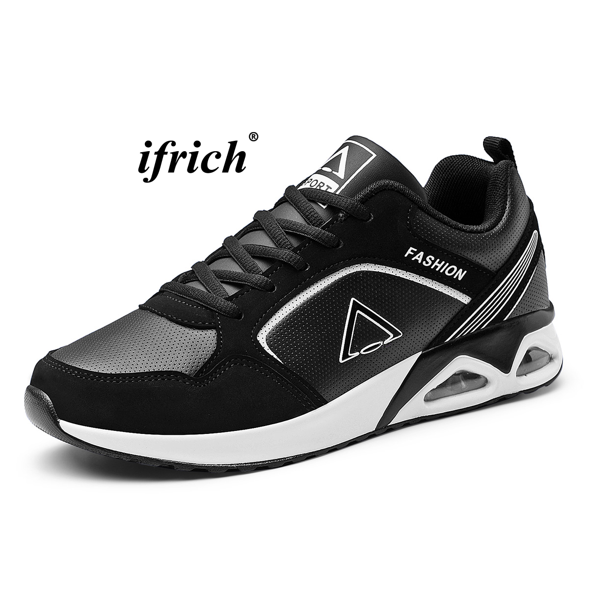 Man Running Sneakers Black Blue Mens Tracking Sneakers Spring Autumn Gym Trainer Shoes Men Comfortable Sneakers for Male