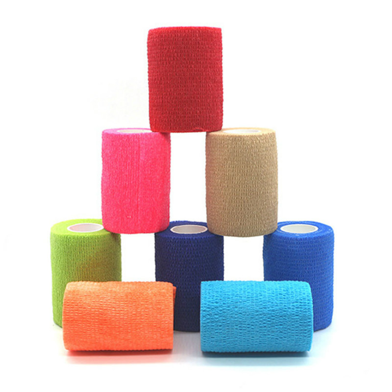 10cm X 4.5m Cohesive Bandage Elastic Self Adhesive Tape Medical Supplies For Sprain Swelling And Soreness