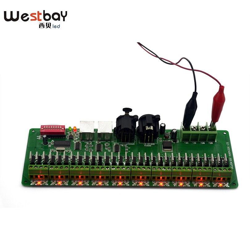 Pulsuz çatdırılma Easy DMX 30CH LED RGB Controller, dekoder və - İşıqlandırma aksesuarları - Fotoqrafiya 4