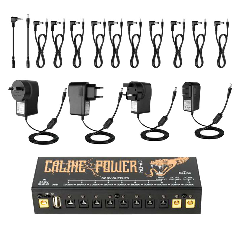 Caline CP-04 Pedal Power Supply 18V 1A Input USB Port For Charging Iphone Ipad Mobile Phone Effect Power Supply Caline Power стоимость