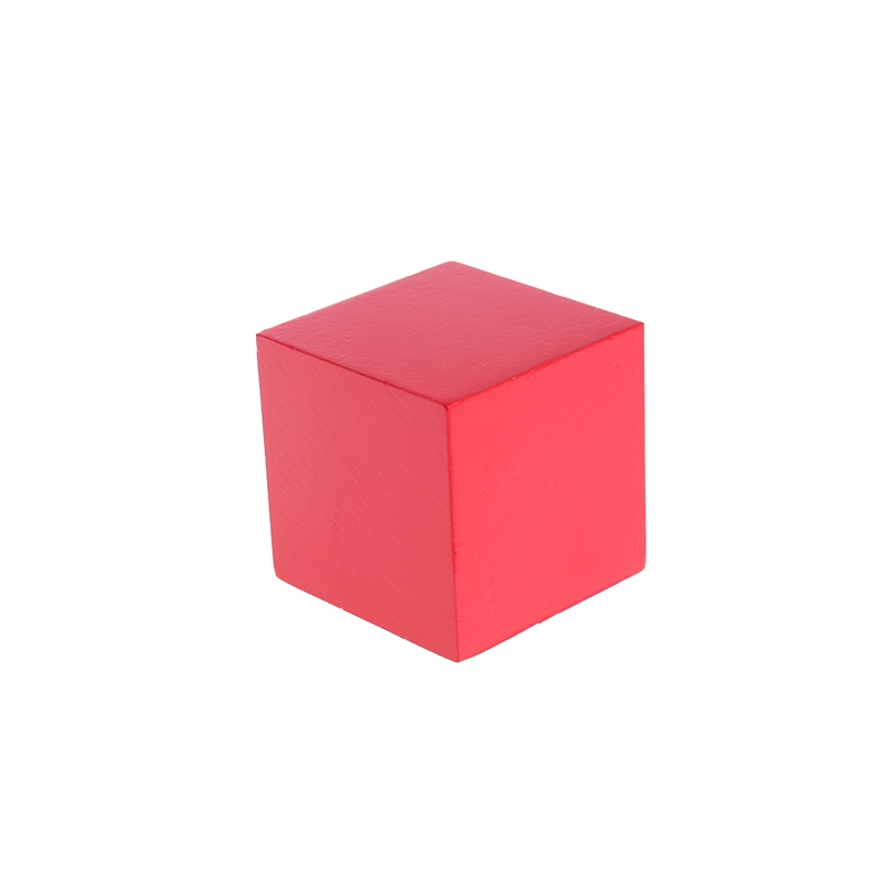 Everlasting Early Learning Educational Toys Montessori Wooden Trinomial Cube for Toddlers