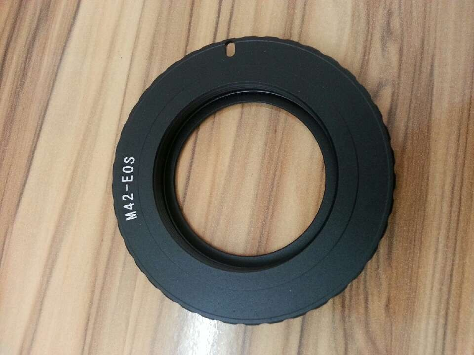 M42 Black AF Potvrďte kovový adaptér pro objektiv pro Canon Eos 5D 7D 60D 50D 40D 500D 550D L3EF