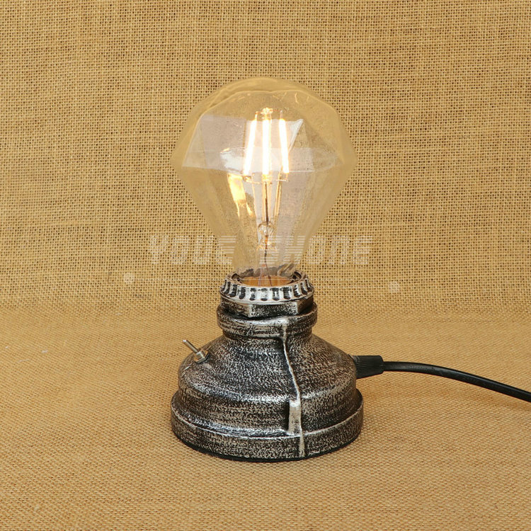 unique design American style lights industrial wind restoring ancient ways desk pipe decoration lamp