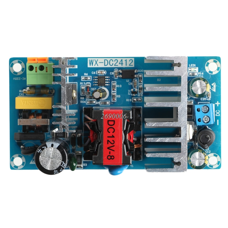 New 6A-8A Unit For 12V 100W Switching Power Supply Board AC-DC Circuit Module цена