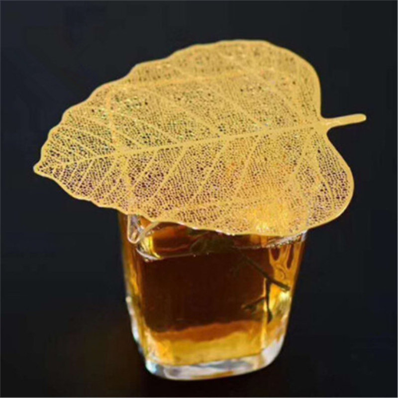 Creative New Bodhi Leaf Tea Filter Creative Net Kong Accessory Chinese Tea Set Teapot Tea Cup Strainers Leaf Tea Strainer