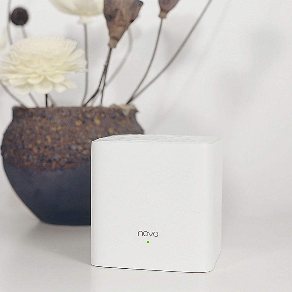 Répéteur WiFi de routeur sans fil double bande Tenda Nova MW3 AC1200 2 pièces/ensemble