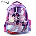 New Kids Lovely Cartoon Schoolbag My Little Pony Girls Backpack  for Kindergarten Primary School Kids Back to School Gift Bags
