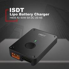 ISDT H605 Air 50 Вт 5A DC 2 S-6 S Lipo батарея интеллектуальное зарядное устройство с поддержкой Bluetooth с управлением приложением мини Android зарядное устройство с поддержкой Bluetooth