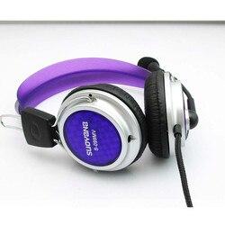New Stereo Surround Gaming Headset Headband Fone De Ouvido 3.5mm com Microfone para PC Música Ouvindo l0726 #3 Microfone Flexível