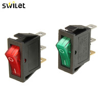 1PC KCD3-101N 16A 250V 20A 125V 3 Pin 2 Position Light Power Rocker Switch Waterproof SPST Switch Sale At A Loss