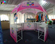 outdoor dome promotional gazebo event tent full color printing