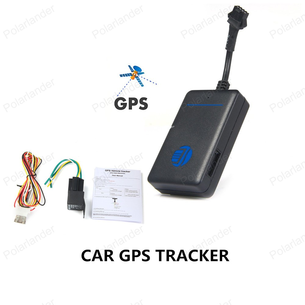 DHL Free shipping tk200 New Realtime GPS Tracker Car Quad Band Vehicle Tracking Device with Relay