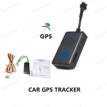 DHL Free shipping tk200 New Realtime GPS Tracker Car Quad Band Vehicle Tracking Device with Relay Battery to Cut Fuel(China)