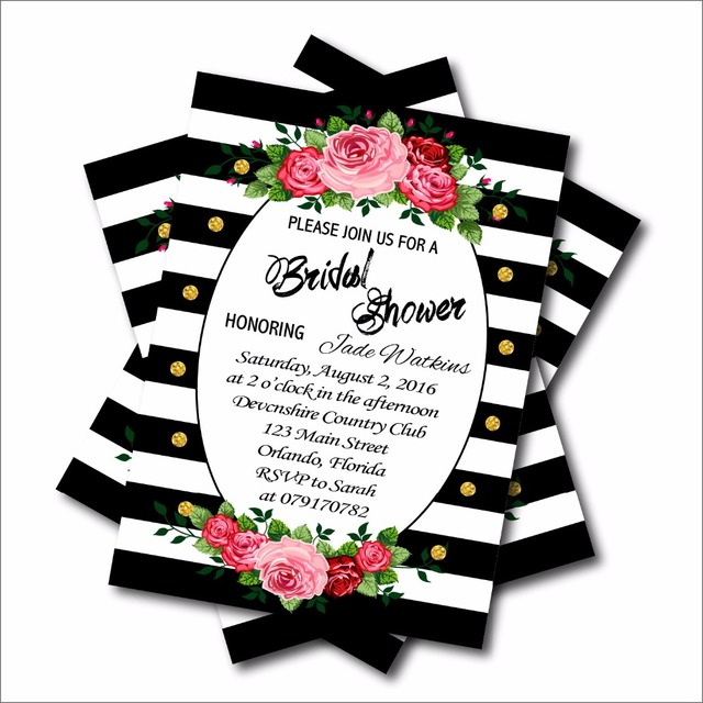Mermaid Bridal Shower Invitations