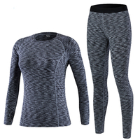 2019 New Thermal Underwear Women Winter Quick Dry Anti microbial Stretch Thermo Underwear Sets Female Warm Long Johns Female