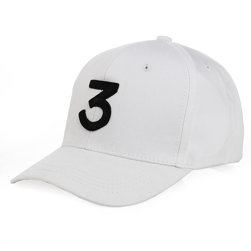 popular chance rapper hat cap black letter embroidery baseball hip hop ralph lauren and white leather strap nike