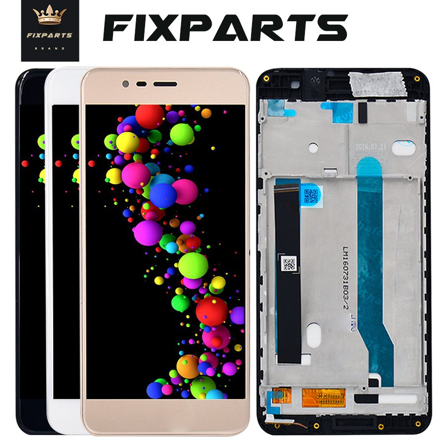 For <font><b>Asus</b></font> <font><b>Zenfone</b></font> <font><b>3</b></font> <font><b>Max</b></font> <font><b>ZC520TL</b></font> LCD Display Touch <font><b>Screen</b></font> Digitizer Assembly with Frame <font><b>Replacement</b></font> For 5.2 <font><b>ASUS</b></font> <font><b>zc520tl</b></font> X008D LCD image