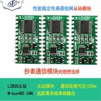 Ônibus Sensor De Escravo Módulo LZBUS 485 CAN MBUS Rede Módulo de Rede Internet das Coisas