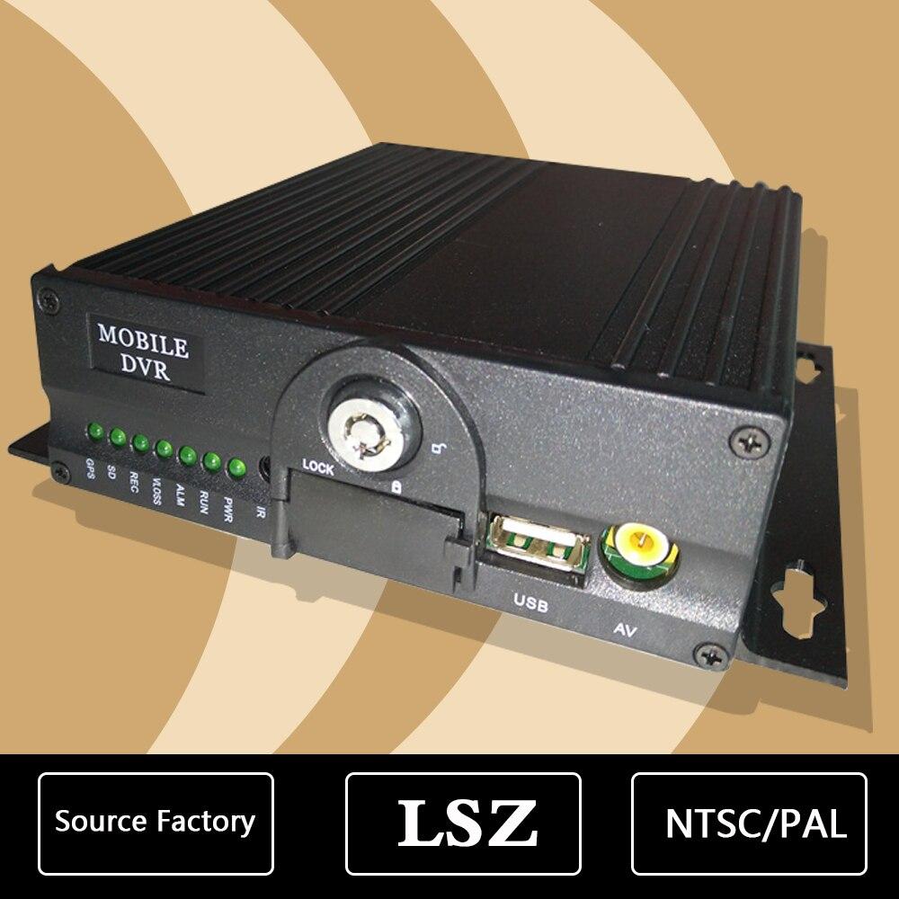 Streamax AHD 960p/720p HD 4-channel car video recorder PAL/NTSC standard ambulance taxi MDVR ahd mdvr taxi special turkish menu ntsc pal vcr